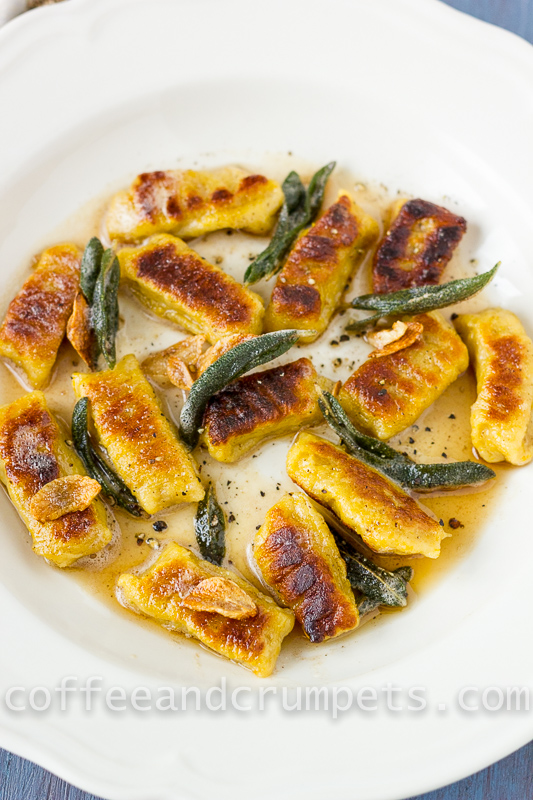 Butternut Squash Gnocchi with Brown Butter and Sage