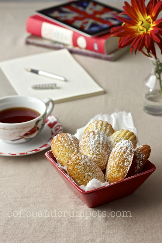 Orange Cardamom Madeleines - Coffee and Crumpets