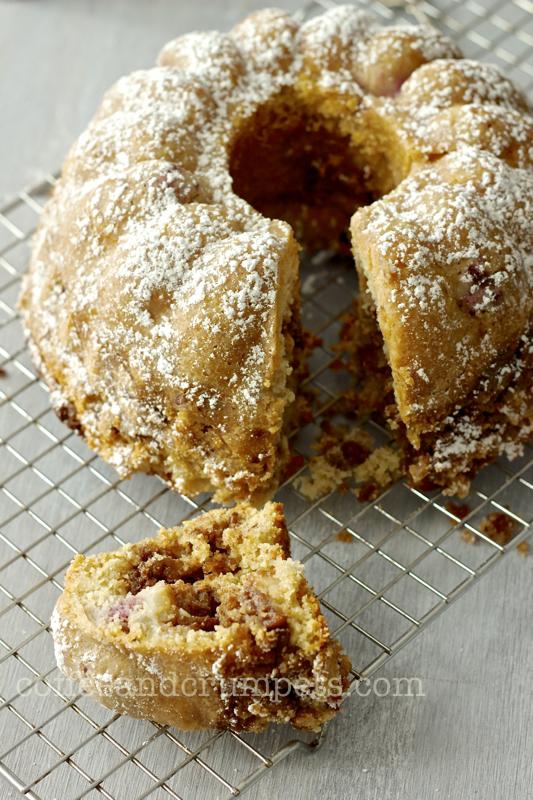 Asian Pear Coffee Cake Recipe
