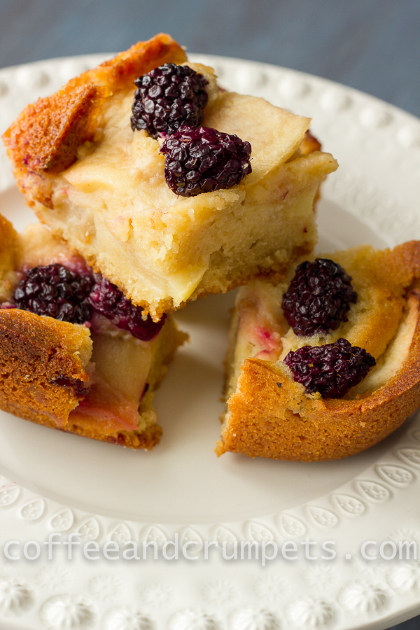 Apple and Blackberry Cake-Coffee and Crumpets