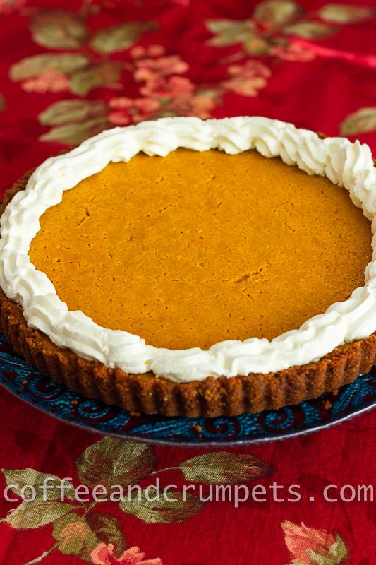 Pumpkin Mascarpone Pie Recipe — Dishmaps