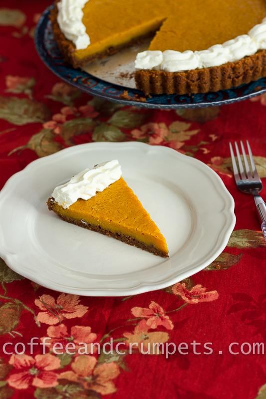 Pumpkin Mascarpone Cheesecake Tart
