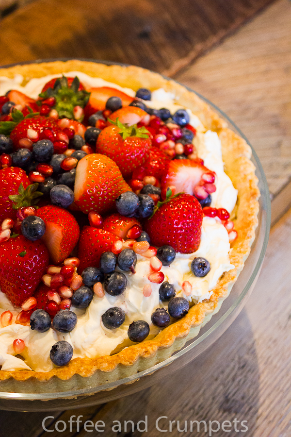 Mascarpone Cream Fruit Tart